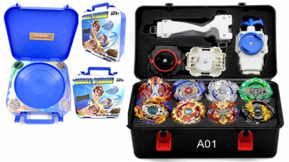 Set Beyblade con Estadio Movil